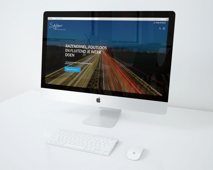 Skyliner software nieuwe website