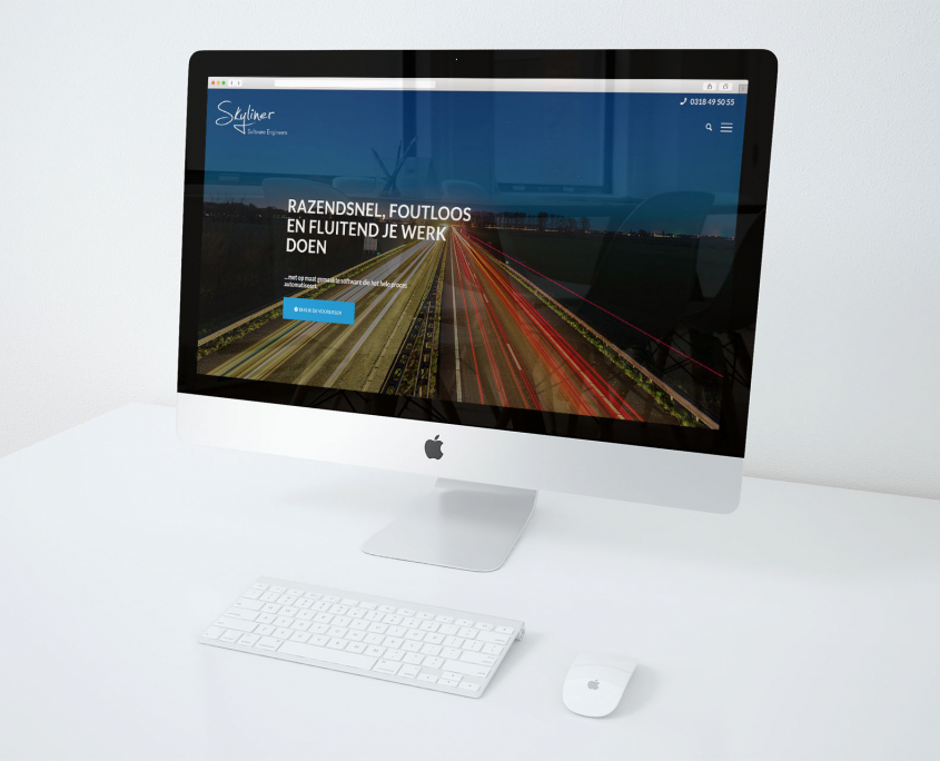 Skyliner software nieuwe website